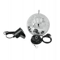 EUROLITE Mirror Ball 20 cm  SET LED 6000K
