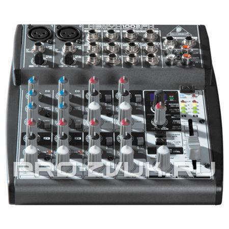 BEHRINGER XENYX 1002FX - Микшерный пульт