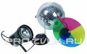 EUROLITE Mirror Ball 30 cm SET